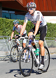 29.08.2011, Andalusien, ESP, LA VUELTA 2011, Stage 17, im Bild Bradley Wiggins during during the stage of La Vuelta 2011 between Faustino V and Pena Cabarga.September 7,2011. EXPA Pictures © 2011, PhotoCredit: EXPA/ Alterphoto/ Acero +++++ ATTENTION - OUT OF SPAIN/(ESP) +++++
