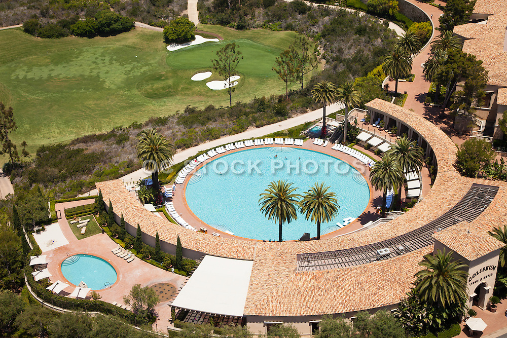 The Coliseum Pool at The Resort at Pelican Hill in Newport Coast California