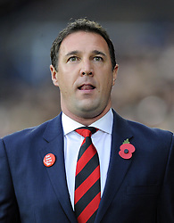 Cardiff City Manager, Malky Mackay - Photo mandatory by-line: Joe Meredith/JMP - Tel: Mobile: 07966 386802 03/11/2013 - SPORT - FOOTBALL - The Cardiff City Stadium - Cardiff - Cardiff City v Swansea City - Barclays Premier League