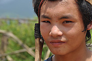 Young hunter with his Slingshot photographed in Laos