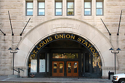 20 October 2010:  St. Louis Union Station north west entrance.  St. Louis Missouri