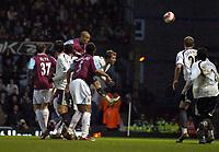 Photo: Olly Greenwood.<br />West Ham United v Tottenham Hotspur. The Barclays Premiership. 04/03/2007. West Ham's Bobby Zamora heads in