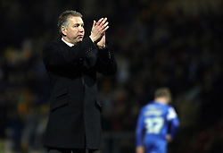 Peterborough United Manager, Darren Ferguson claps the fans at full-time  - Photo mandatory by-line: Joe Dent/JMP - Mobile: 07966 386802 18/04/2014 - SPORT - FOOTBALL - Bradford - Valley Parade - Bradford City v Peterborough United - Sky Bet League One