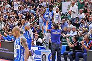 DESCRIZIONE : Campionato 2014/15 Dinamo Banco di Sardegna Sassari - Olimpia EA7 Emporio Armani Milano Playoff Semifinale Gara3<br /> GIOCATORE : Shane Lawal<br /> CATEGORIA : Curiosità<br /> SQUADRA : Dinamo Banco di Sardegna Sassari<br /> EVENTO : LegaBasket Serie A Beko 2014/2015 Playoff Semifinale Gara3<br /> GARA : Dinamo Banco di Sardegna Sassari - Olimpia EA7 Emporio Armani Milano Gara4<br /> DATA : 02/06/2015<br /> SPORT : Pallacanestro <br /> AUTORE : Agenzia Ciamillo-Castoria/L.Canu
