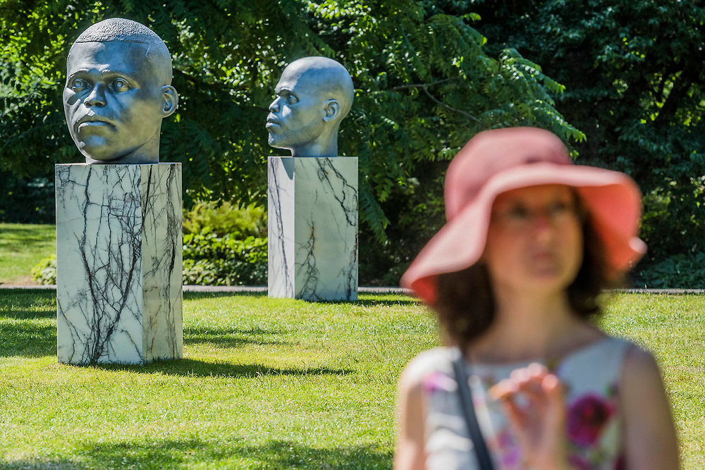 The Frieze Sculpture Park 2017 comprises large-scale works, set in the English Gardens . The installations will remain on view until 8 Oct 2017.