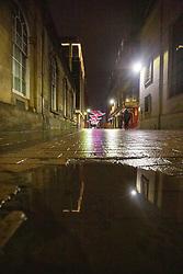 31DEC20 Rose Street, Edinburgh on Hogmanay.