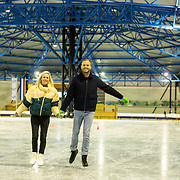 NLD/Dronten/20191111 - Sint on Ice, Jim Bakkum en partner Bettina Holwerda