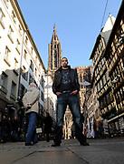 DESCRIZIONE : Championnat de France Pro a Strasbourg <br /> GIOCATORE : Alexis Ajinca<br /> SQUADRA : Strasbourg<br /> EVENTO : Magazine Pro A<br /> GARA : <br /> DATA : 15/01/2012<br /> CATEGORIA : Basketball France Homme  Magazine Strasbourg <br /> AUTORE : JF Molliere<br /> Galleria : France Basket 2011-2012 Magazine<br /> Fotonotizia : Championnat de France Pro a Strasbourg <br /> Predefinita :