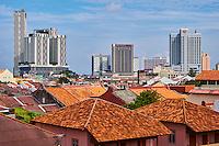 Malaisie, état de Malacca, Malacca, Centre historique, patrimoine Mondial de l'Unesco // Malaysia, Malacca state, Malacca, Unesco Wold Heritage, historical center