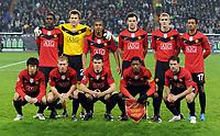 Fotball<br /> Tyskland<br /> Foto: Witters/Digitalsport<br /> NORWAY ONLY<br /> <br /> 08.12.2009<br /> <br /> hintere Reihe v.l. Daniel Welbeck, Torwart Tomasz Kuszczak, Anderson, Michael Carrick, Darren Fletcher, Nani<br /> vorne v.l. Ji-Sung Park, Paul Scholes, Darron Gibson, Patrice Evra, Michael Owen Manu<br /> Champions League VfL Wolfsburg - Manchester United 1:3<br /> <br /> Lagbilde Manchester United