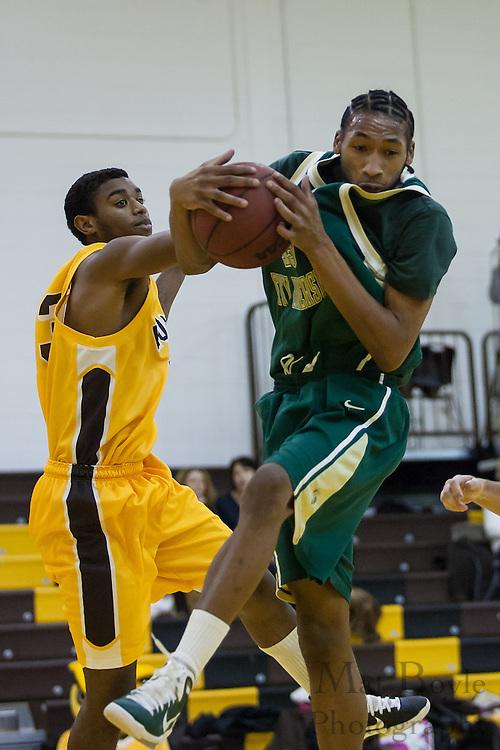 Rowan Univeristy Men's Basketball vs New Jersey City University on Saturday January 22, 2011. (photo / Mat Boyle)