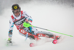 "Marcel Hirscher (AUT) during FIS Alpine Ski World Cup 2016/17 Men's Slalom race named ""Snow Queen Trophy 2017"", on January 5, 2017 in Course Crveni Spust at Sljeme hill, Zagreb, Croatia. Photo by Ziga Zupan / Sportida"
