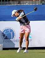 22 MAR15  Ai Miyazato during Sunday's Final Round of the JTBC Founder's Cup at The Wildfire Golf Club in Scottsdale, Arizona. (photo credit : kenneth e. dennis/kendennisphoto.com)