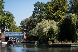 © Licensed to London News Pictures. 02/08/2018. London, UK. A canal boat makes it's way though Little Venice in London on another hot summers day. Another heatwave is expected to hit parts of the UK with record temperatures expected in parts of Europe. Photo credit: Ben Cawthra/LNP