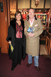 Michael Pattemore and Lynda Bellingham at the gala opening night of Cirque du Soleil's Varekai at the Royal Albert Hall, London on 5th January 2010.