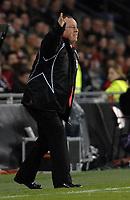 Photo: RIchard Lane.<br />PSV Eindhoven v Liverpool. UEFA Champions League, Quarter Final, 1st Leg. 03/04/2007. Liverpool manager, Rafael Benitez.