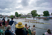 Henley-On-Thames, Berkshire, UK.,Sunday, 15.08.21,   2021 Henley Royal Regatta, Henley Reach, River Thames, Thames Valley,  [Mandatory Credit © Peter Spurrier/Intersport Images], Finals' Day, Hat, Hats at Henley,