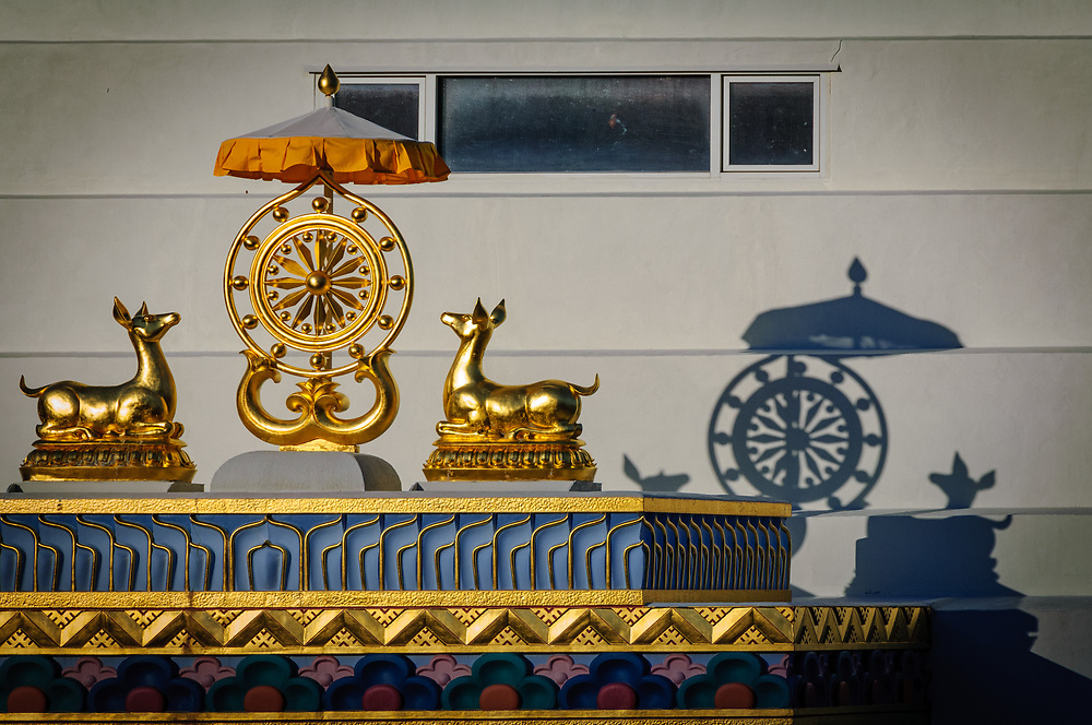 A decoration on the Great Stupa.