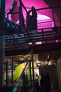 Big Bang data exhibition, Somerset House. London. 2 December 2015