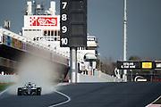 February 26, 2017: Circuit de Catalunya. Valtteri Bottas (FIN), Mercedes AMG Petronas Motorsport, F1 W08 during the wet weather tire test for Pirelli