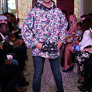 London England,UK: 17th September 2016: Jeanine Clarkin from New Zealand showcases is latest colltction at the  LFW S/S 2017 : The London Pacific Collective of A Pacific Fashion Show host by London Pacific Fashion Ltd at Grand Connaught Rooms Rooftop in London. Photo by See Li