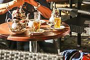 Casablanca, Morocco sweet local tea in the market