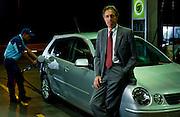 Belo Horizonte_MG, Brasil...Sergio Cavalieri, presidente do conselho da Ale combustiveis, em posto da empresa...Sergio Cavalieri, He is the council president of the Ale, He is in the gas station. ..Foto: LEO DRUMOND / NITRO.