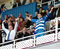 Photo: Kevin Poolman.<br />Reading v Derby County. Coca Cola Championship. 01/04/2006. Steve Coppell and Graeme Murty celebrate Reading' Championship win