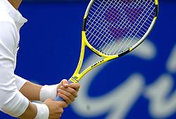22-06-2006 TENNIS: ORDINA OPEN: ROSMALEN<br /> Racket - tennis item<br /> ©2006-WWW.FOTOHOOGENDOORN.NL