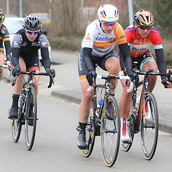 HOOGEVEEN cycling: The first manche of the UCI womens worldcup the Boels Rental ronde van Drenthe