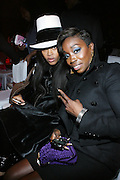l to r: Erykah Badu and Estelle at The 3rd Annual Black Girls Rock Awards held at the Rose Building at Lincoln Center in New York City on November 2, 2008..BLACK GIRLS ROCK! Inc. is a 501 (c)(3) nonprofit, youth empowerment mentoring organization established for young women of color.  Proceeds from ticket sales will benefit BLACK GIRLS ROCK! Inc.?s mission to empower young women of color via the arts.  All contributions are tax deductible to the extent allowed by