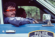 Cool Cop, Central Park, New York City, New York, USA, May 1983