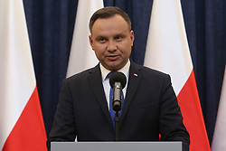 February 6, 2018 - Warsaw, Poland - Polish president ANDRZEJ DUDA to sign Holocaust bill, but will ask top court for opinion.   (Credit Image: © Michal Dyjuk/FORUM via ZUMA Press)