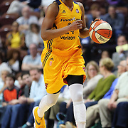 UNCASVILLE, CONNECTICUT- JUNE 5:   Tamika Catchings #24 of the Indiana Fever in action during the Indiana Fever Vs Connecticut Sun, WNBA regular season game at Mohegan Sun Arena on June 3, 2016 in Uncasville, Connecticut. (Photo by Tim Clayton/Corbis via Getty Images)