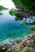 Coastline, Lapad Bay, Dubrovnik, Croatia