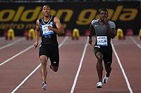Jimmy VICAUT FRA, Justin GATLIN USA 100m Men <br /> Roma 03-06-2016 Stadio Olimpico <br /> IAAF Diamond League Golden Gala <br /> Atletica Leggera<br /> Foto Andrea Staccioli / Insidefoto