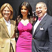 Greta Van Susteren, Kim Kardashian and Ted Greenberg