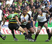 20020907  Northampton Saints vs Newcastle Falcons,Premiership