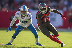 Detroit Lions vs Buccaneers 10 Dec 2017