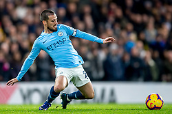 December 8, 2018 - London, Greater London, England - David Silva of Manchester City during the Premier League match between Chelsea and Manchester City at Stamford Bridge, London, England on 8 December 2018. (Credit Image: © AFP7 via ZUMA Wire)