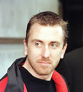 Actor Tim Roth pictured attending a film premiere during  the 1998 Edinburgh International Film Festival. Born in 1961, Roth was an Academy Award-nominated, BAFTA-winning English film actor and director. Roth appeared in Francis Ford Coppola's Youth Without Youth and Michael Haneke's Funny Games