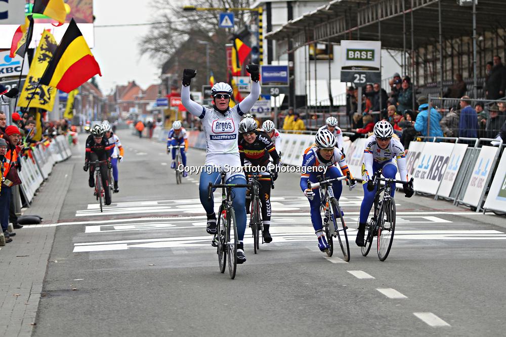 Sportfoto archief 2013<br /> Marianne Vos wint wereldbeker wedstrijd ronde van Drenthe