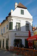 Kreszto House, 1 Apåca Ut. The Kreszto House, Classicsist House and museum of artist  Margrit Kocåcs Life-work.- ( Gy?r )  Gyor Hungary