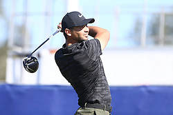 January 26, 2017 - San Diego, California, United States - Jason Day tees off the 9th hole during the first round of the Farmers Insurance Open at Torrey Pines GC. (Credit Image: © Debby Wong via ZUMA Wire)