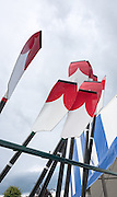 Henley on Thames. United Kingdom. General  Freshly painted Cornell University  USA. Blades the Boating Area. Saturday 25.06.2016. 2016 Henley Royal Regatta, Henley Reach.   [Mandatory Credit Peter Spurrier/ Intersport Images]