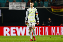 November 16, 2018 - Leipzig, Germany - Manuel Neuer of Germany looks on during the international friendly match between Germany and Russia on November 15, 2018 at Red Bull Arena in Leipzig, Germany. (Credit Image: © Mike Kireev/NurPhoto via ZUMA Press)