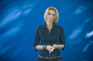 Best-selling Turkish writer Elif Shafak, pictured at the Edinburgh International Book Festival where she talked about her latest book entitled 'The Forty Rules of Love.' The three-week event is the world's biggest literary festival and is held during the annual Edinburgh Festival. The 2010 event featured talks and presentations by more than 500 authors from around the world.