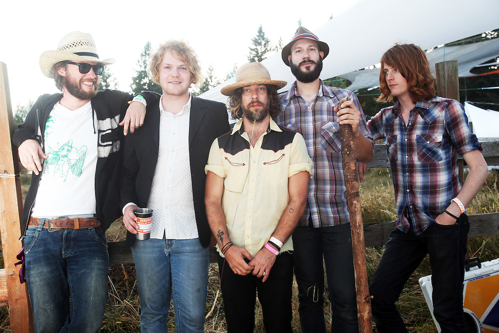 These United States. Pickathon 2010. Photographed by Thomas Patterson.