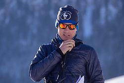 22.01.2019, Streif, Kitzbühel, AUT, FIS Weltcup Ski Alpin, Abfahrt, Herren, 1. Training, im Bild Rennleiter Mario Mittermayer // Race Director Mario Mittermayer during the 1st Training of mens downhill of FIS Ski Alpine Worldcup at the Streif in Kitzbühel, Austria on 2019/01/22. EXPA Pictures © 2019, PhotoCredit: EXPA/ Johann Groder