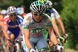 Jure Golcer of LPR Brakes during 1st stage of the 15th Tour de Slovenie from Ljubljana to Postojna (161 km) , on June 11,2008, Slovenia. (Photo by Vid Ponikvar / Sportal Images)/ Sportida)